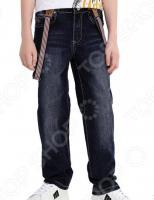 Брюки детские Finn Flare Kids KB17-85017. Цвет: темно-синий