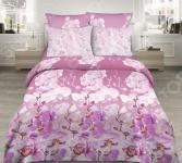 Комплект постельного белья Василиса «Красавица орхидея». Семейный