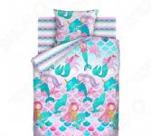 Детский комплект постельного белья Непоседа «Русалки»