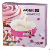 Форма для выпечки Agness «Сладкое сердце»