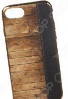 Чехол для телефона TPU для iPhone 8/7 «Кожа и дерево»