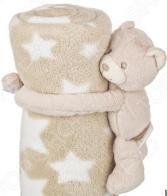 Плед детский с игрушкой «Звездный мишка»