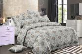 Комплект постельного белья«Цветочный Вальс». 1,5-спальный. Рисунок: узоры