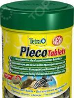Корм для травоядных донных рыб Tetra со спирулиной Pleco