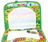 Коврик для рисования водным маркером 1 Toy AquaArt «Зеленый чемоданчик»