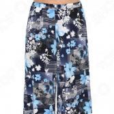 Юбка-шорты Лауме-Лайн «Нежное танго». Цвет: голубой