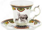 Чайная пара OlAff Jade Porcelain XXY-XT-C4543
