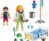 Игровой набор  Playmobil «Детская клиника: Доктор с ребенком»