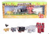 Набор фигурок игрушечных Minecraft «Животные»