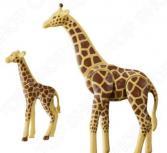 Набор фигурок Playmobil «Зоопарк: Жираф со своим детенышем жирафом»