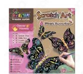 Набор для изготовления гравюр Avenir «Волшебные бабочки»