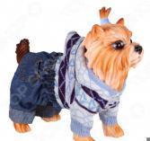 Свитер для собак DEZZIE «Стрит». Цвет: голубой