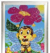 Мозаика из пайеток Азбука тойс «Пчелка»