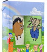 Комплект из 2-х кухонных полотенец Dinosti «Кабан и свинка»