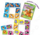 Домино детское Vladi Toys «Зоопарк»