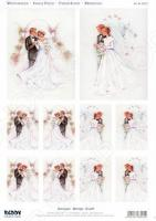 Аппликация вырубная для объемных рисунков Reddy Creative Cards «Жених и невеста»