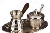 Набор для чая: сахарница и молочник на подставке 882-005