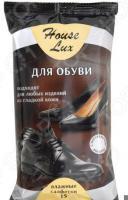 Салфетки влажные для обуви Мультидом House Lux 48735