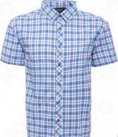 Рубашка Finn Flare S15-22015. Цвет: голубой