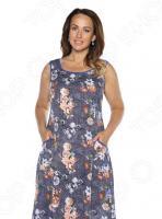 Платье Алтекс «Варенька». Цвет: джинсовый