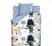 Детский комплект постельного белья Непоседа Trolls «Цветан и Облачко»