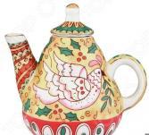 Чайник сувенирный Elan Gallery «Райская птица»