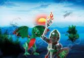 Яйцо-трансформер Playmobil «Воин Дракона»