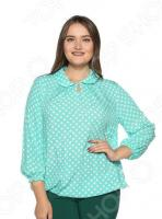 Блузка Pretty Woman «Нежность моя». Цвет: мятный