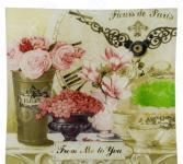 Тарелка десертная Gift'n'home «Парижские цветы»