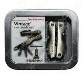 Мультитул Swiss+Tech VintageCorkscrewTool8-in-1 в подарочной упаковке