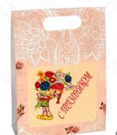 Полотенце махровое подарочное Dinosti «С праздником! Буратино». В ассортименте