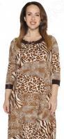 Платье Лауме-Лайн «Ночное созвездие». Цвет: коричневый