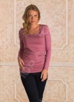 Кофта для беременных Nuova Vita 1396.1. Цвет: розовый