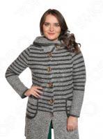 Жакет Milana Style «Горизонты». Цвет: серый