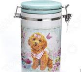 Банка для сыпучих продуктов Loraine «Собачки. Сладости»