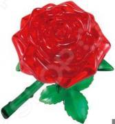 Кристальный пазл 3D Crystal Puzzle «Роза красная»