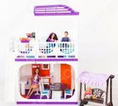 Кукольный дом с аксессуарами Огонек «Конфетти»