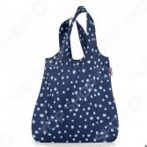 Сумка для покупок складная Reisenthel Mini Maxi Shopper Spots Navy