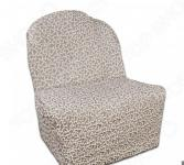 Натяжной чехол на кресло без подлокотников Еврочехол «Жаккард. Сильва»
