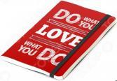 Записная книжка Balvi Inspiration. Цвет: красный
