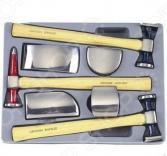 Набор оправок и молотков для кузовных работ Force F-50713
