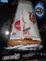 Лодка на радиоуправлении 1 Toy парусная