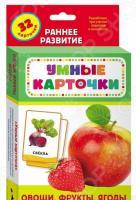 Овощи, фрукты, ягоды. Развивающие карточки