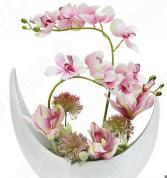 Декоративные цветы Dream Garden «Орхидея розовая» в вазе