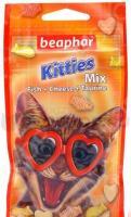 Лакомство витаминное для котят Beaphar Kitties Mix. Fish Cheese Taurine