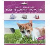 Набор фильтров для кошачьего биотуалета MPS Pixi