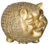 Фигурка декоративная Lefard «Свинья в золотых монетах» 114-280