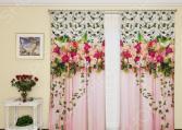 Фотошторы с кулиской ТамиТекс «Счастье роз»