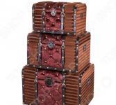 Комплект сундуков декоративных Lefard 714-059