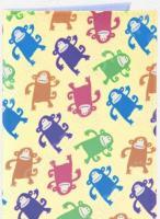 Обложка для автодокументов кожаная Mitya Veselkov «Смешные обезьянки»